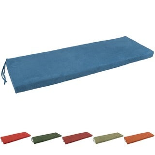 Blazing Needles 60x19-inch Microsuede Settee/ Bench Cushion