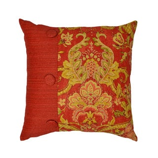 Waverly Archival Urn 18-Inch Pieced Decorative Pillow