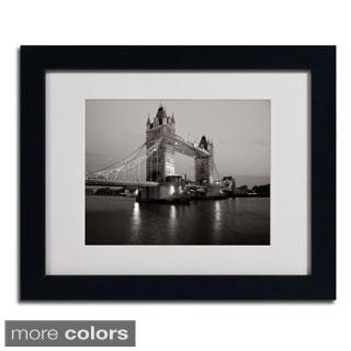 Chris Bliss 'Tower Bridge I' Framed Matted Art