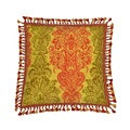 Waverly Archival Urn 20-Inch Tassel Trimmed Decorative Pillow
