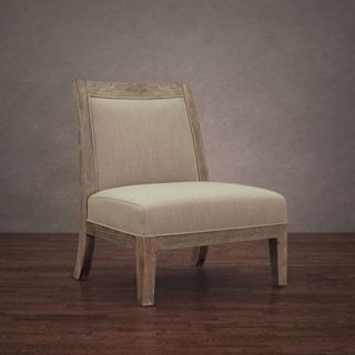 Connor Beige Linen Chair