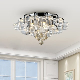 Sunflower Crystal Chandelier