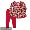 Girls All Flower Two Piece Set