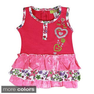 Girls Toddler Ruffle Dress