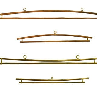 Bamboo Tapestry Hanger (Set of two)