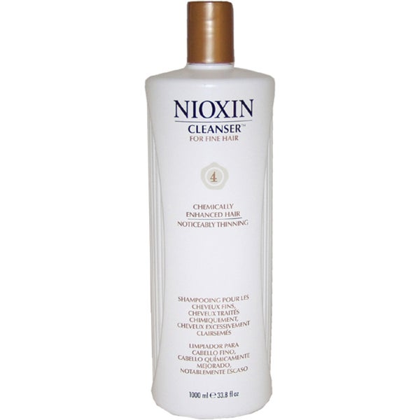 Nioxin System 4 Cleanser for Fine, Thinning Hair
