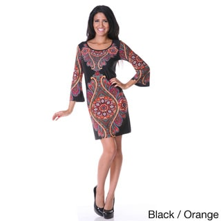 Women's Ethnic Diamond Dress
