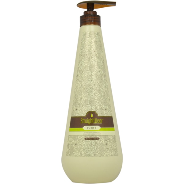 Natural Macadamia Oil Straightwear Purify 33.8-ounce Shampoo