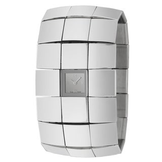 Calvin Klein Women's 'Disco' Stainless Steel Swiss Quartz Watch
