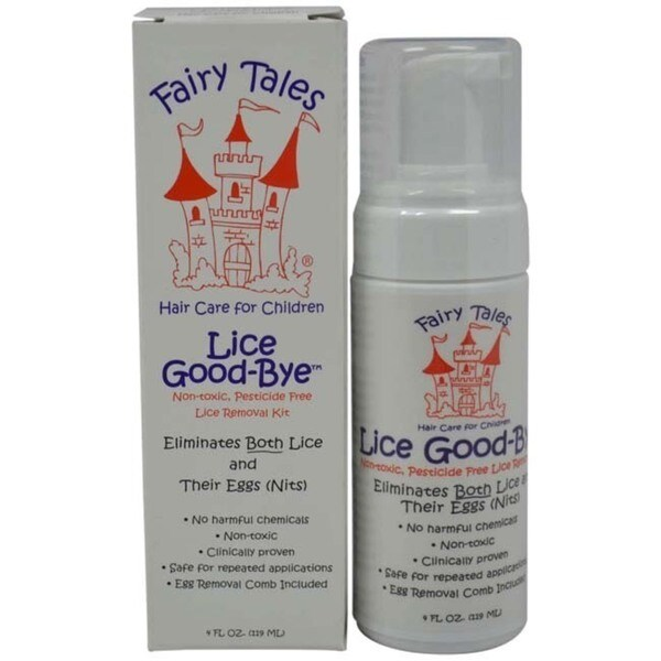 Fairy Tales Lice Goodbye Nit Removal Kit with Comb 4-ounce Mousse