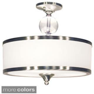 Z-Lite 3-light Semi Flush Mount