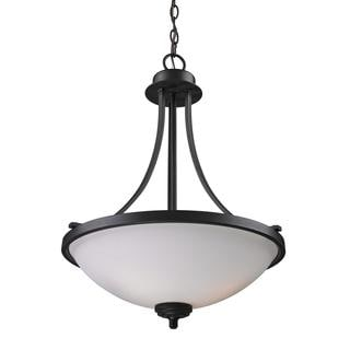 Z-Lite 3-light Oil Rubbed Bronze Pendant