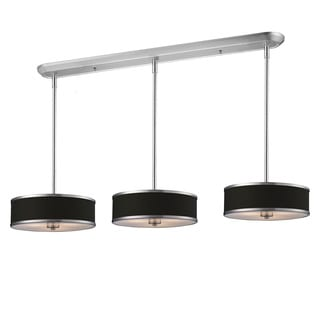 Z-Lite Chrome 9-light Island/ Billiard Fixture