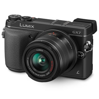 Panasonic Lumix DMC-GX7 Mirrorless Micro 4/3 Camera 14-42mm Lens
