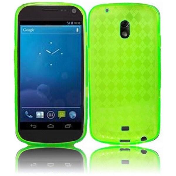 BasAcc Neon Green TPU Case for Samsung i515/ Galaxy Nexus Prime
