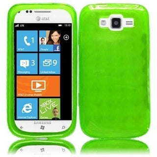 BasAcc Neon Green TPU Case for Samsung Focus 2 i667