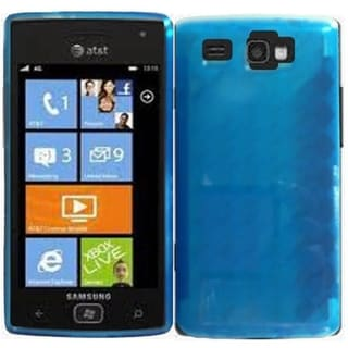 BasAcc Blue TPU Case for Samsung Focus Flash i677