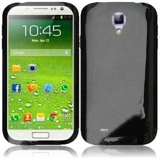 INSTEN Premium Black TPU Rubber Candy Skin Phone Case Cover for Samsung Galaxy S4 GT-i9500