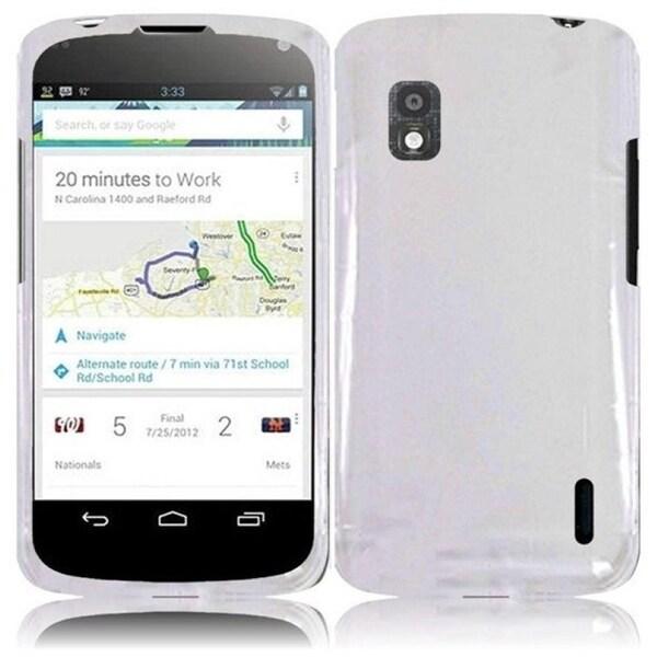 BasAcc Clear Transparent Case for LG Nexus 4 E960