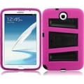 BasAcc Black/ Hot Pink Case with Stand for Samsung Note 8