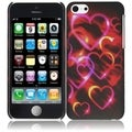 BasAcc Colorful Hearts Case for Apple iPhone 5C