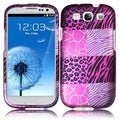 BasAcc Pink Exotic Case for Samsung Galaxy S3 i9300/ i747/ L710