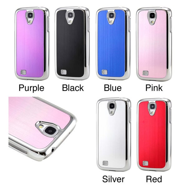 Gearonic Aluminum Hard PC Cover Case for Samsung Galaxy S4 i9500