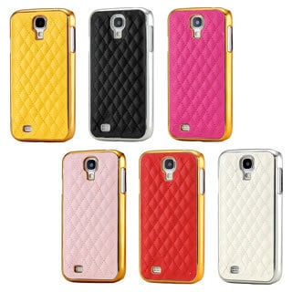 Gearonic Pattern PU Leather Hard PC Case for Samsung Galaxy S4 i9500