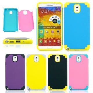 Gearonic PC Silicone Hard Case Cover For Samsung Galaxy Note 3 III N9000