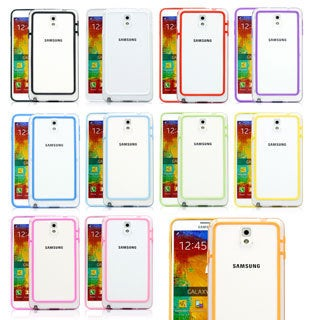 Gearonic Ultra Thin TPU Bumper Case for Samsung Galaxy Note 3 III N9000