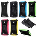Gearonic 2 Piece Hybrid Rugged Hard Case for Samsung Galaxy S4 i9500