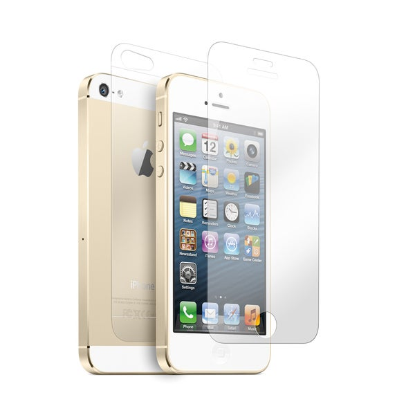 Gearonic Clear Transparent Screen Protectors for Apple iPhone 5 5S