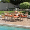 Colton Orange 6-piece Outdoor Dining Set