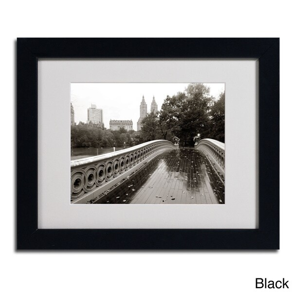 Chris Bliss 'Bow Bridge 2010' Framed Matted Art
