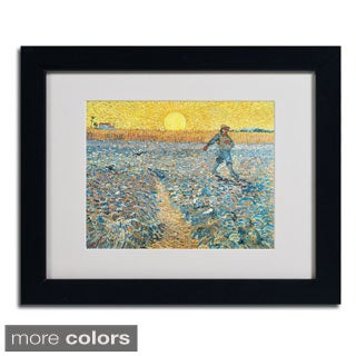 Vincent van Gogh 'Sower 1888' Framed Matted Art