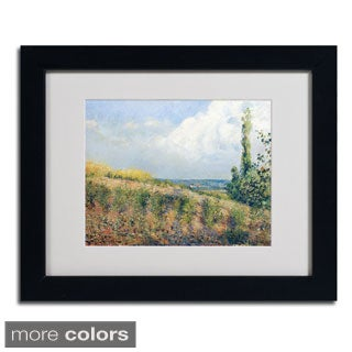 Camille Pissarro 'The Approaching Storm' Framed Matted Art