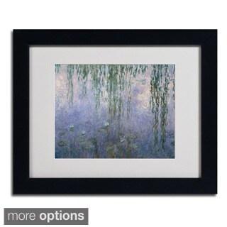Claude Monet 'Water Lilies III 1840-1926' Framed Matted Art