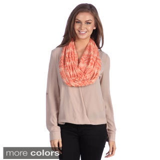 Muk Luks Burn-out Eternity Jersey Scarf