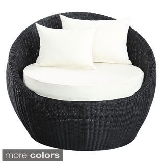 Luna Outdoor Round Rattan Patio Chair