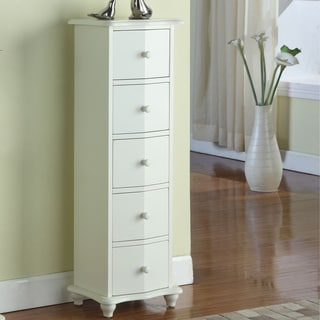K&B 0435-W 5-Drawer Cabinet