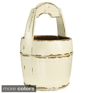 Ridged Handle Water Bucket