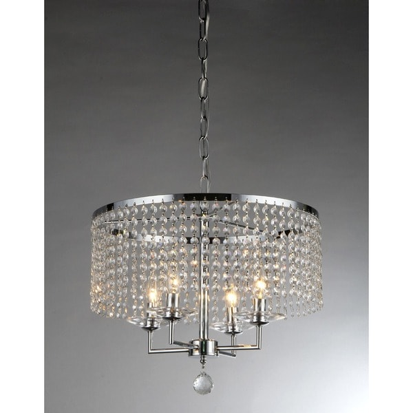 Dart Four-Light Crystal Chandelier