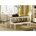 Liberty Linen Sand Low Country Rectangular 6-Piece Dining Set