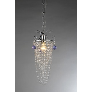 Pot Crystal 2-Light Chandelier
