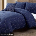Nora Embroidered 4-piece Comforter Set