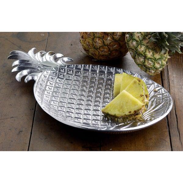 17-Inch Aluminum Pineapple Tray