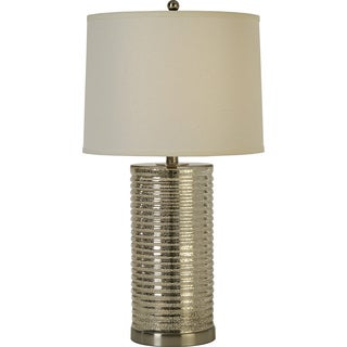 Arctica 1-light Nickel Table Lamp