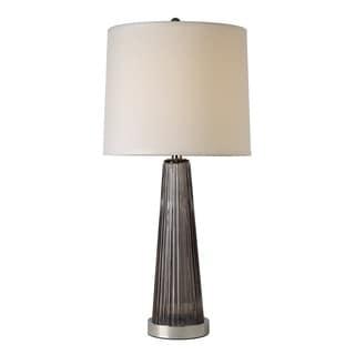Chiara Smoky Grey Table Lamp