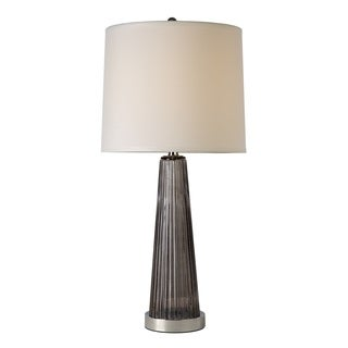 Chiara Smoky Grey Table Lamp