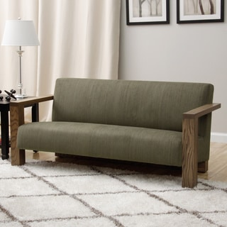 Grey Woven Fabric Sofa